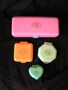 Polly Pocket! (OMG I had all these as a kid)
