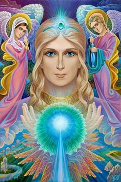 Blessing you all today with the emerald green healing energy of Archangel Raphael ~ Angel of Divine Healing