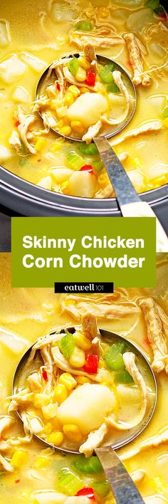 When it comes to fighting a cold, nothing beats the healing properties of a chunky, heartwarming chicken soup. Definitely on the lighter side, this skinny version of the classic chicken and corn ch…