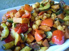 Moroccan Roasted Vegetables / Weighing In Week 18 On The 17 Day Diet » Nutmeg Notebook
