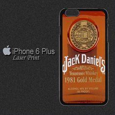 Whisky Jack, Tennessee Whiskey, Iphone 6 Plus Case, 6 Case, Whiskey Bottle, Creative Design, Hong Kong, Plastic, Product Description