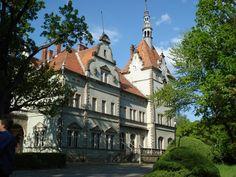 Shernborn Castle in Chynadiyovo, Ukraine