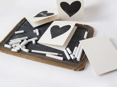 Etsy の Heart Card Kit by baileydoesntbark