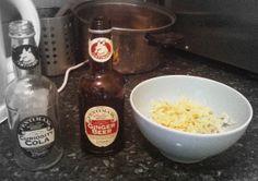 Vintage design Ginger Beer Bottles from Fentiman's. So classy!