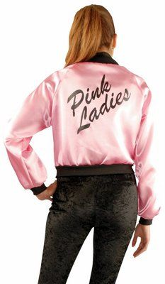 1950s Pink Ladies Jacket | Halloween costumes, Halloween and Mom