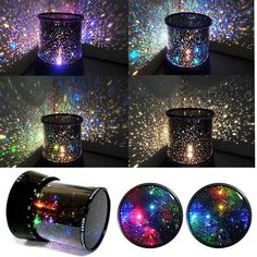 Amazing Sky Star Master Night Light Projector Lamp LED Holiday in box #Holiday