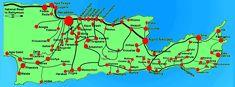 Bus vervoer Kreta: openbaar vervoer op Kreta met de bus