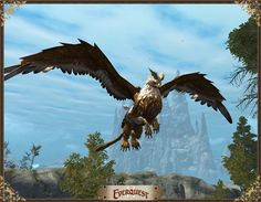 new flying mount in Everquest 2 Golden Griffin #EQ2