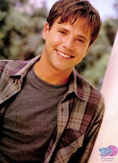 David Lascher ~ Josh from Sabrina the Teenage Witch Gorgeous Men, Beautiful People, Back In My Day, Hey Dude, Hottest Male Celebrities, Old Magazines, Man Crush, Cute Guys, Actors & Actresses