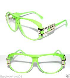 472ed9c69988 Men s Vintage 163 Design Eye Glasses Clear lens Green Gold Gazelle  Grandmaster