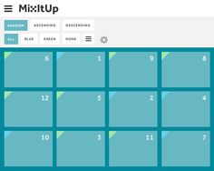 Mix it Up, grid, css3, sortable