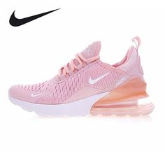 the latest 3f30f 99e6a Nike Air Max 270 Women s Running Shoes, Outdoor Sneakers Shoes, Yellow Pink,  Breathable