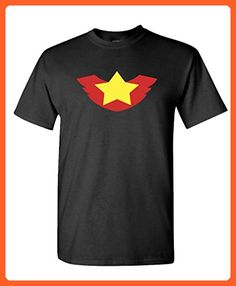 WINGED STAR - kung fu martial arts lee - Mens Cotton T-Shirt, S, Black - Sports shirts (*Partner-Link)