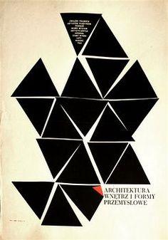 Zbigniew Kaja Architektura Wnętrz i Formy Przemysłowe Polish poster art