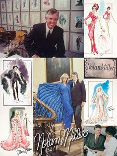 Nolan Miller (Jan. 8, 1933 – June 6, 2012) was an American fashion & jewelry designer, and a TV costume designer best known for his work on the long-running 1980s series Dynasty, and its spin-off series The Colbys. He collaborated on many projects with television producers Aaron Spelling and Douglas S. Cramer, including Charlie's Angels, The Love Boat, Fantasy Island, Hotel, and Vega$. He also maintained a career as a private couturier in Beverly Hills, California, with many celebrity clients.