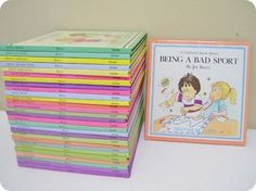 The Help Me Be Good Book Series.  Just completed my set yesterday.  I am so excited to have babies to read these with.
