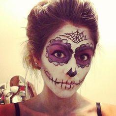 #sugarskull #makeup #halloween #deannadoesmakeup @sephoraween