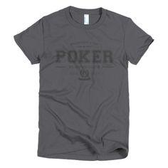 PLAYRS Club Women's Poker T-Shirt – Dark