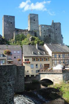 Runkel Castle on the Lahn River - Germany