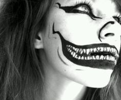 Ryuk's mouth and nose - Death Note