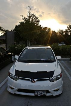 All about Honda | Civic | White | Honda | Dream Car | car | car photography | sheer driving pleasure | Schomp Honda
