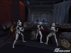 Star Wars: The Clone Wars - Republic Heroes on the Wii - was fun until the kids took over.