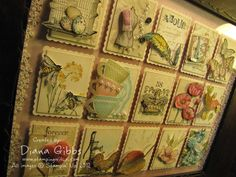 """Love this Stampin Up! sampler by Diana Gibbs A """"wow!"""" for sure--so very gorgeous;thanks for showing this to us"""