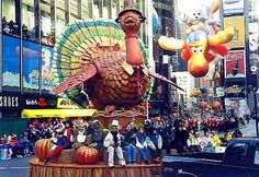 A tradition - the Macy's Thanksgiving Parade!