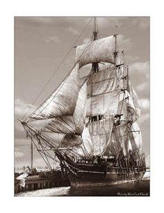 19th Century Sailing Photographs | 19th Century Sailing Ships / Morning Star