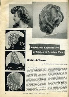 Beauty is a thing of the past: August 2008 College Hairstyles, 1940s Hairstyles, Retro Hairstyles, Pin Curls, Soft Curls, Beauty Book, Hair Beauty, 1920s Long Hair, Medium Hair Styles
