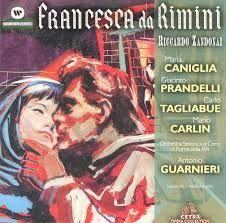 "My very first contact with the opera at the age of 11 ""Zandonai Francesca da Rimini"""