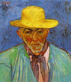 'Portrait of Patience Escalier', 1888 - van Gogh