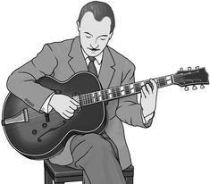 guitar (guitarist : Django Reinhardt)