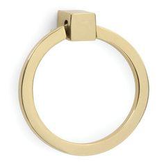 LACQ BRASS RING PULL. Vandykes.com
