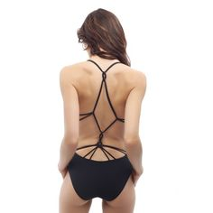 Knot-back Maillot by calaossidiana on Etsy | Cala Ossidiana Swimwear one-piece swimsuit with beautiful back and style