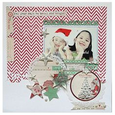 Layout: Introducing Countdown to Christmas from Melissa Frances