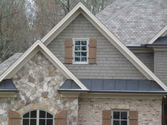 james hardie white shake siding - This goes on the front | Our New ...