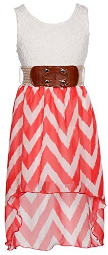 Wonder Girl Big Girls' Hi-Low Fuzzy Chevron Chiffon Dress Set 6 Coral Wonder Girl http://www.amazon.com/dp/B00LV4BDPK/ref=cm_sw_r_pi_dp_LzYyvb1HPF0GV