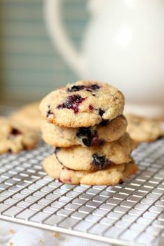 Lemon Blueberry Muffin Cookies | Tasty Kitchen: A Happy Recipe Community!