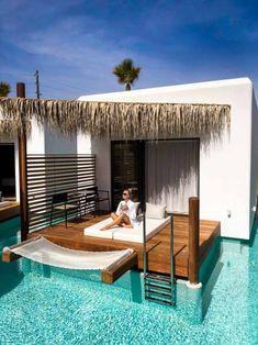 Stella Island Luxury Resort and Spa Kreta Hotels And Resorts, Best Hotels, Pool Bar, Piscina Hotel, Beautiful Places To Travel, Beautiful Hotels, Spa Design, Swimming Pools Backyard, Luxury Spa