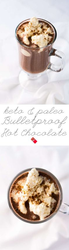 Keto Bulletproof Hot Chocolate 🍫