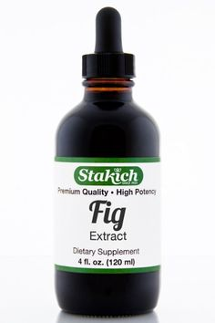 Stakich Fig (Ficus carica) 4 oz Liquid Extract - Top Quality