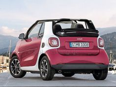 2016 Smart Fortwo Exterior Electric Vehicle Cars Car
