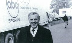 Keith Jackson ABC | box at Ann Arbor, Michigan with Ara Parseghian and KeithJackson of ABC ...