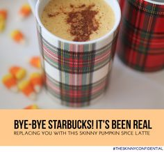 Peace Out Sugar Filled Pumpkin Spice Lattes…!! Try This Baby Instead: