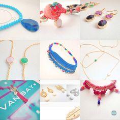Mix Van Bay complementos  Nuevas cositas y rediseño de piezas insignia. www.facebook.com/myvanbay