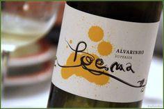 Alvarinho Superior Poema | 'Otras 101 etiquetas de botellas de vino... (2ª parte)' by @Recetum