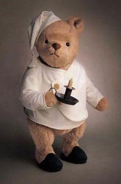 Teddy bear bedtime.