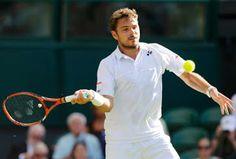 Blog Esportivo do Suíço: Wawrinka domina com o saque e vence na estreia de Wimbledon