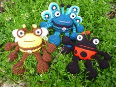 Ravelry: Bumble Bee and Friends pattern by Janine Holmes